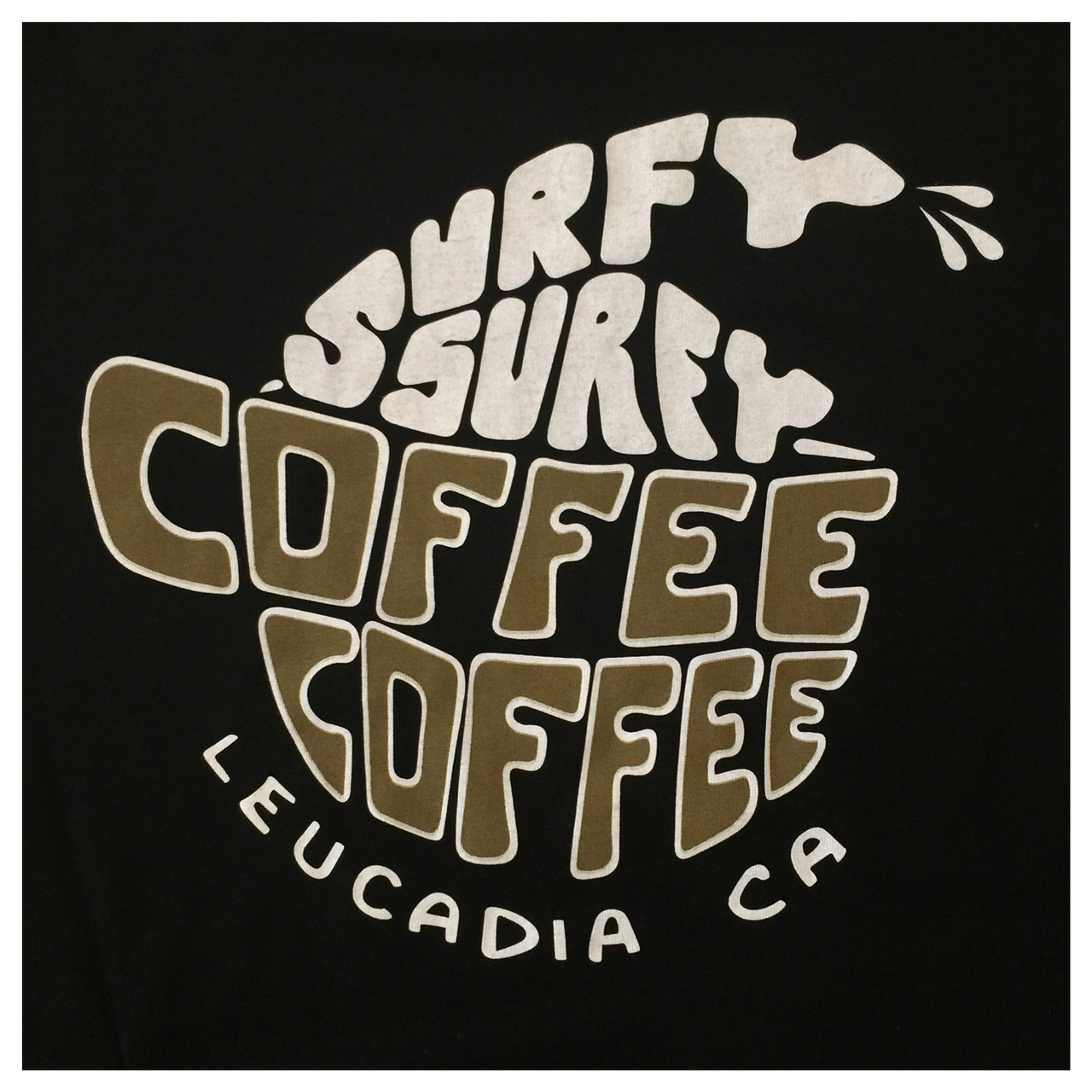Coffee Coffee Surfy Surfy t-shirt